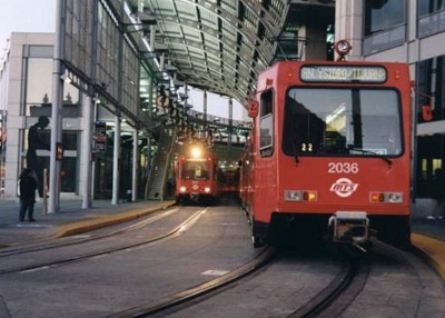 San Diego Trolley Blue/Orange Light Rail Lines, Metropolitan Transportation Development Board: Responsible for design of communications systems, passenger information systems and signaling interfaces, for the Blue and Orange Light Rail Lines, which includes 35 passenger stations.