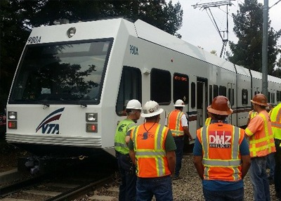 Mountain View Light Rail Double Track Efficiency Project Phases 1 & 2, San Jose, Santa Clara VTA: LA was responsible for providing a Systems Integration Manager, Systems Construction Manager, System Test Manager, Rail Activation Manager, Safety Certification Manager, and Systems Inspectors. We were responsible for managing all systems construction along with trackwork, testing and commissioning and completing the CPUC certification for this light rail double track project, which also included Caltrain construction and coordination. LA was responsible for signaling, communications, overhead contact system, traction power substations upgrades, traffic signal controller interfaces, station systems, power distribution, combined system ductbank, track, special trackwork and switches.
