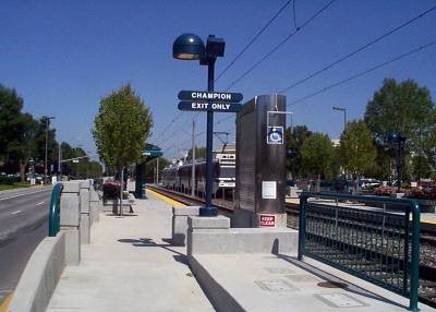 Tasman West Light Rail System, San Jose, Santa Clara VTA: Provided planning, design and construction management services, resident engineers, inspectors, contract administration. This included systems and civil elements (communications, fare collection, integration with substations, overhead contact system, signaling, track, stations, maintenance facility, and control center). The system is 7.6 miles in length, with 12 passenger stations from the Baypointe Transfer Station to the Mountain View Station.
